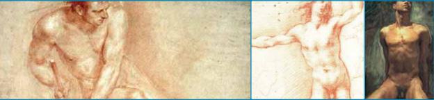 umelecké diela s tematikou mužského tela