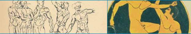 historické obrazy s mužskou témou