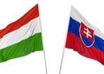 vlajky Maďarska a Slovenska