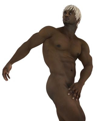 muž, ktorý si zakrýva penis