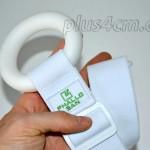 detail elastického pásu s mäkkým prstencom